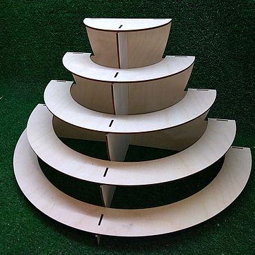 Для дома и интерьера ручной работы. Ярмарка Мастеров - ручная работа Разборная витрина этажерка. Handmade.