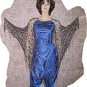 платье-накидка Ночной сад