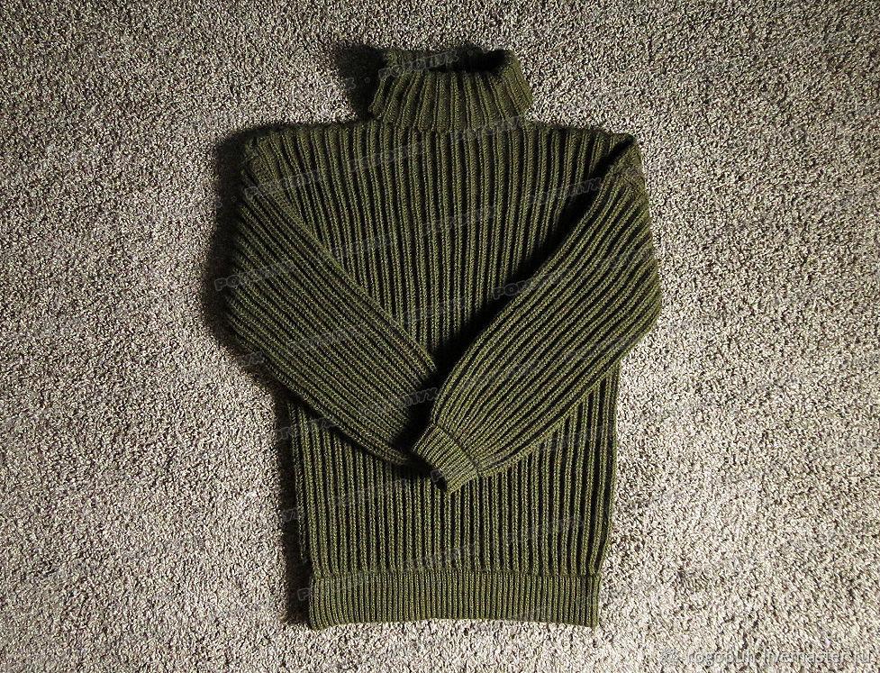 Knitted sweater khaki acrylic (No. №359), Mens sweaters, Nalchik,  Фото №1