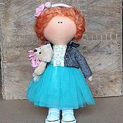 Куклы и игрушки ручной работы. Ярмарка Мастеров - ручная работа Текстильная кукла Рыжик. Handmade.