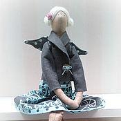 Куклы и игрушки ручной работы. Ярмарка Мастеров - ручная работа Тильда ангел в серо-голубом. Handmade.