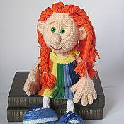 Куклы и игрушки ручной работы. Ярмарка Мастеров - ручная работа Кукла Подружка Семицветик. Handmade.