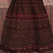 Одежда ручной работы. Ярмарка Мастеров - ручная работа ЮБКА в этническом стиле. Handmade.