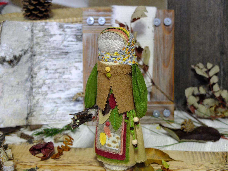 """Doll - Charm """"Autumn Leaves"""", Folk Dolls, Novokuznetsk,  Фото №1"""