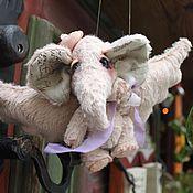 """Куклы и игрушки ручной работы. Ярмарка Мастеров - ручная работа Пылинка. Серия """"Летающие слоники"""", улетела. Handmade."""