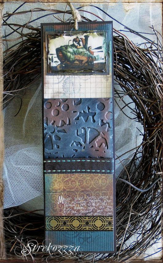 Закладки для книг ручной работы. Ярмарка Мастеров - ручная работа. Купить Закладка для книг в стиле Стимпанк(№ 4). Handmade. Коричневый