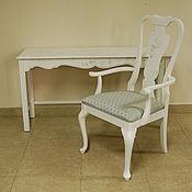 Для дома и интерьера ручной работы. Ярмарка Мастеров - ручная работа стол консоль и стул-кресло. Handmade.