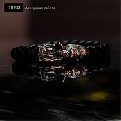 Украшения handmade. Livemaster - original item Bronze Gorilla Bracelet /  Skin. Handmade.
