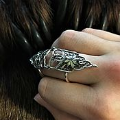 Rings handmade. Livemaster - original item Alatyr ring on the phalanges. Handmade.