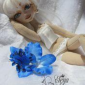 Шарнирная кукла ручной работы. Ярмарка Мастеров - ручная работа Белла,шарнирная  интерьерная кукла. Handmade.