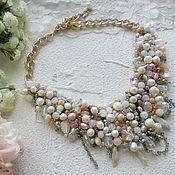 Украшения handmade. Livemaster - original item Pearl fantasy necklace. Handmade.