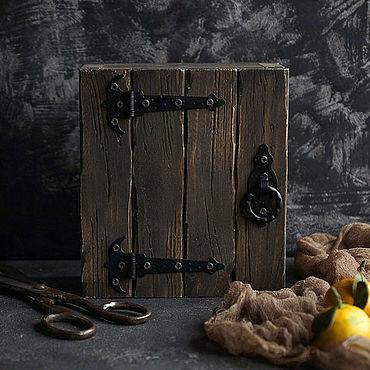 Для дома и интерьера ручной работы. Ярмарка Мастеров - ручная работа Мини ящик для фуд фото. Handmade.