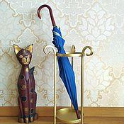 Для дома и интерьера handmade. Livemaster - original item Wrought iron umbrella stand,