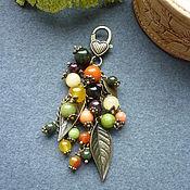 """Брелок ручной работы. Ярмарка Мастеров - ручная работа Брелок для ключей, украшение на сумку """"В лесу"""". Handmade."""