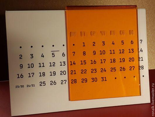 Письменные приборы ручной работы. Ярмарка Мастеров - ручная работа. Купить Вечный календарь, адвент-календарь. Handmade. Вечный календарь
