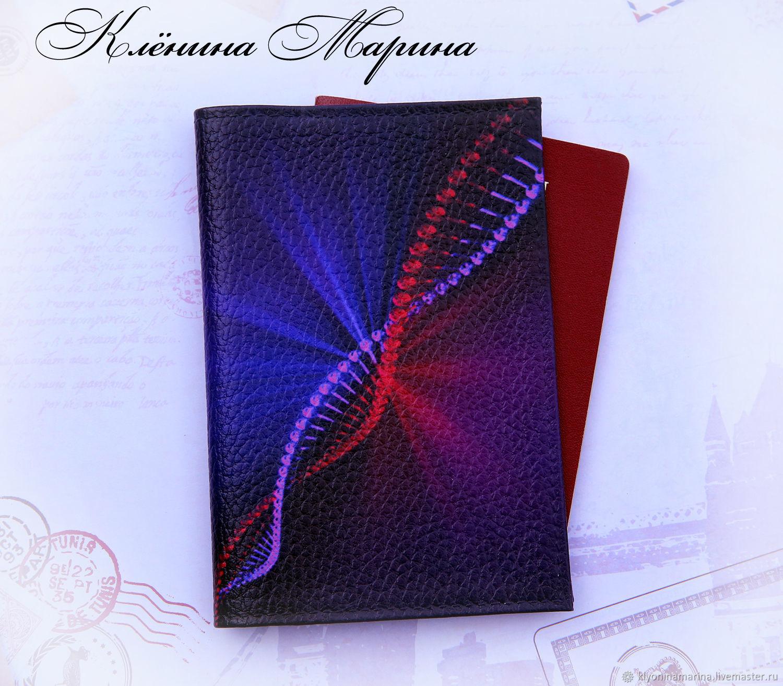 Обложка для паспорта ДНК, Обложки, Москва, Фото №1
