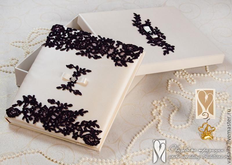 """Свадебный альбом в коробке """" Ежевика"""", Книги, Москва,  Фото №1"""