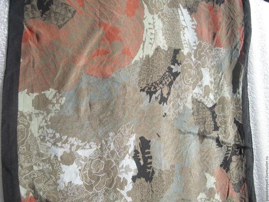 Винтажная одежда и аксессуары. Ярмарка Мастеров - ручная работа. Купить Платок Daniela Rossi. Handmade. Комбинированный, платок, платок на шею