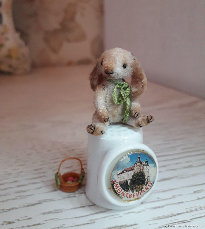 Зайчик Терри, 3,5 см, Мягкие игрушки, Дмитров,  Фото №1
