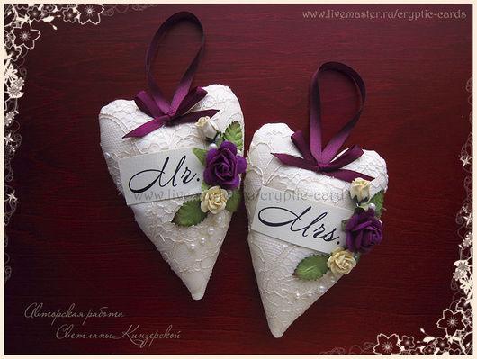 Свадебные аксессуары ручной работы. Ярмарка Мастеров - ручная работа. Купить Набор сердец для свадебной фотосессии или лавстори. Handmade.
