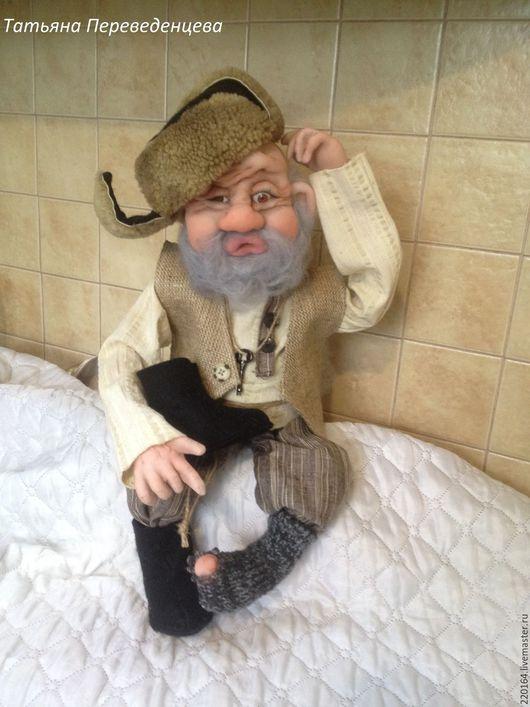 Коллекционные куклы ручной работы. Ярмарка Мастеров - ручная работа. Купить Дед Пихто. Handmade. Домовой оберег, домовые