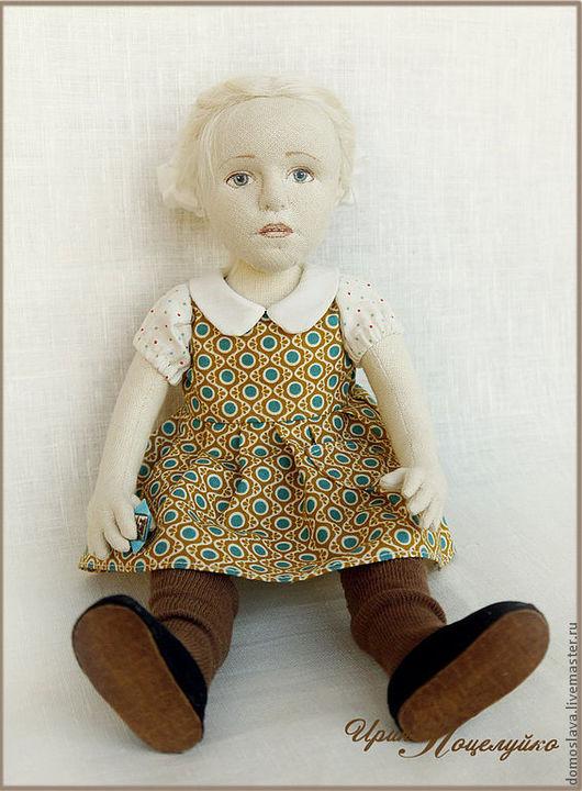 Портретные куклы ручной работы. Ярмарка Мастеров - ручная работа. Купить Светочка (портретная). Handmade. Кремовый, натуральные игрушки