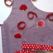 Фартуки ручной работы. Ярмарка Мастеров - ручная работа Фартуки для Мамы и дочки. Handmade.