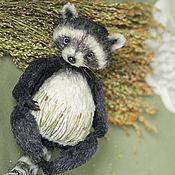 Куклы и игрушки handmade. Livemaster - original item Teddy raccoon Willie. Handmade.