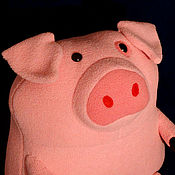 Куклы и игрушки ручной работы. Ярмарка Мастеров - ручная работа Свинка Пухля (Гравити Фолз). Handmade.