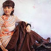 """Одежда ручной работы. Ярмарка Мастеров - ручная работа Туника """"Розовой пудры аромат"""". Handmade."""