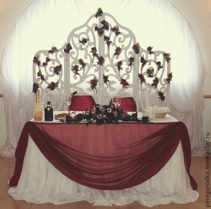 Свадебные аксессуары ручной работы. Ярмарка Мастеров - ручная работа. Купить Ширма свадебная. Handmade. Белый, ширма на свадьбу