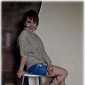 """Одежда ручной работы. Ярмарка Мастеров - ручная работа Джемпер """"Мешковина"""".. Handmade."""
