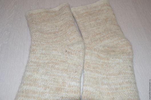 Носки, Чулки ручной работы. Ярмарка Мастеров - ручная работа. Купить Наколенники шерстяные Лечебные. Handmade. Серый, наколенники шерстяные