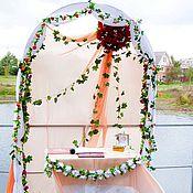 """Свадебный салон ручной работы. Ярмарка Мастеров - ручная работа Арка свадебная для выездной регистрации """"Нежность"""". Handmade."""