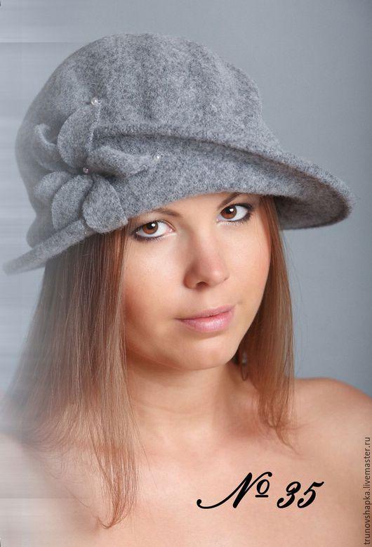 Шляпы ручной работы. Ярмарка Мастеров - ручная работа. Купить Женская шляпка БАБОЧКА. Handmade. Бежевый, шляпка с цветами