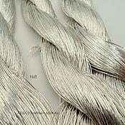 №8 Японские нитки, серебряные