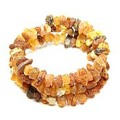 Украшения handmade. Livemaster - original item Bracelet amber therapeutic natural stones on the string 3 turns. Handmade.