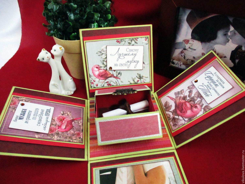 Подарок коробка с сюрпризом мужчине