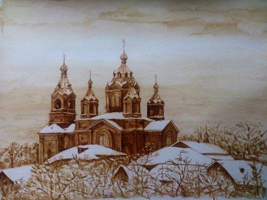 Поселковая церковь.