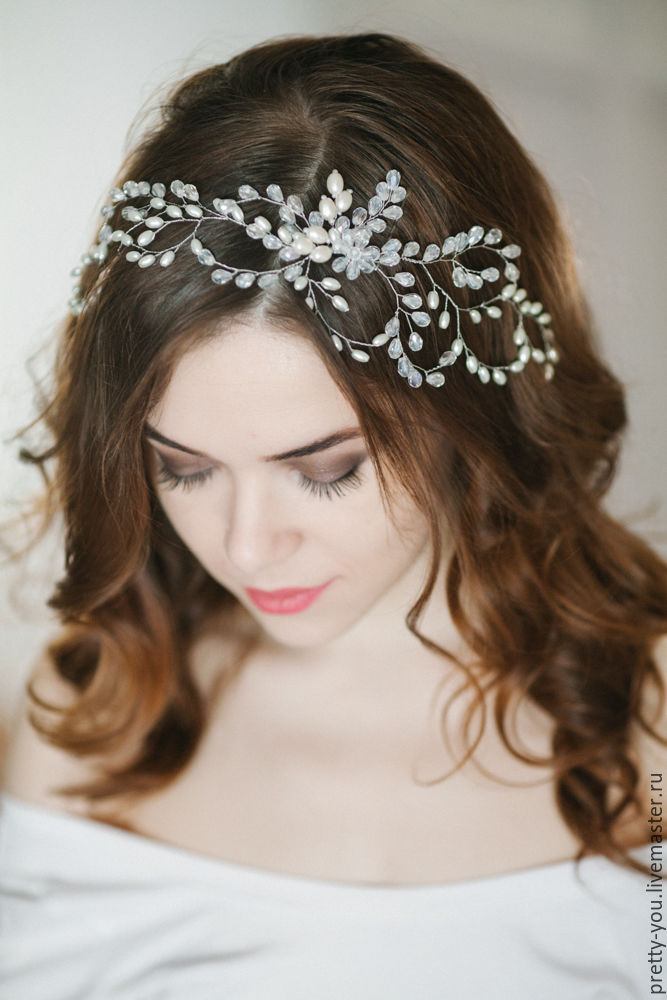 Украшения невесты для волос