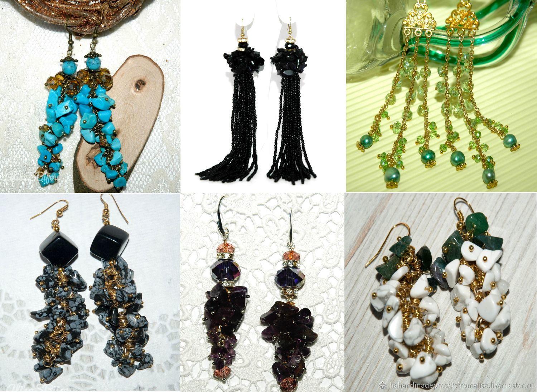 All earrings for 300 rubles!, Earrings, Simferopol,  Фото №1