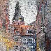Картины и панно handmade. Livemaster - original item Memories of Old Riga. Handmade.