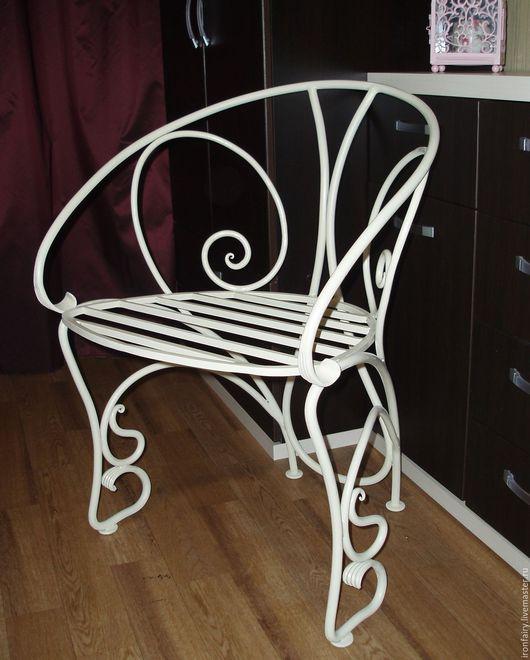 Мебель ручной работы. Ярмарка Мастеров - ручная работа. Купить Кресло кованое. Handmade. Комбинированный, кованые, спальня, металл