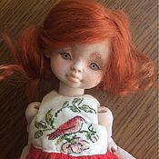Куклы и игрушки ручной работы. Ярмарка Мастеров - ручная работа Авторская шарнирная кукла. Handmade.