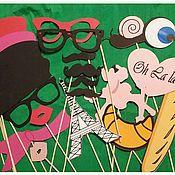 """Сувениры и подарки ручной работы. Ярмарка Мастеров - ручная работа Фотобутафория """"Франция"""". Handmade."""