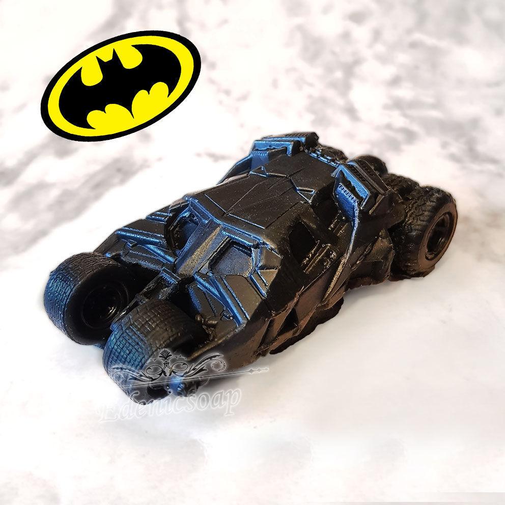 soap: ' Batmobile ' batman gift souvenir machine, Movie souvenirs, Moscow,  Фото №1