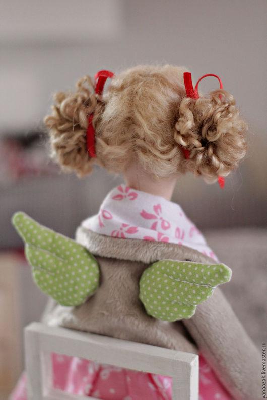 Куклы Тильды ручной работы. Ярмарка Мастеров - ручная работа. Купить Алинта Ангел домашнего уюта.. Handmade. Ангел тильда