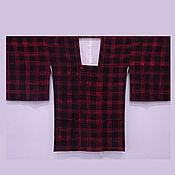 Одежда винтажная ручной работы. Ярмарка Мастеров - ручная работа Кимоно-митиюки, шелк, винтаж. Handmade.
