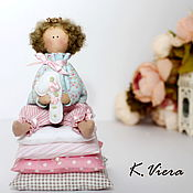Куклы и игрушки ручной работы. Ярмарка Мастеров - ручная работа Принцесса на горошине тильда. Handmade.