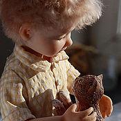 """Куклы и игрушки ручной работы. Ярмарка Мастеров - ручная работа Композиция """"Лучшие друзья"""". Handmade."""
